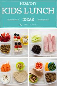 Healthy Kids Lunch • A Sweet Pea Chef