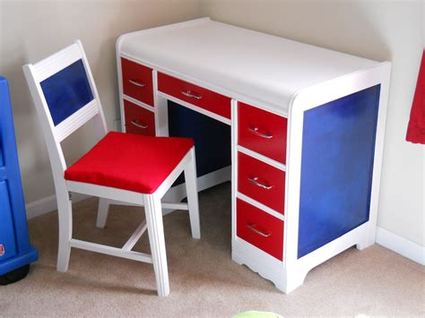 desk for children s room retro restyling retro desk and chair