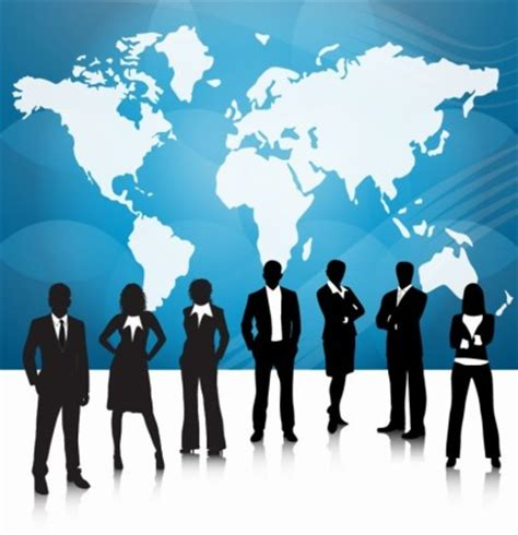 15112 international business meeting clipart 세계 지도 함께 비즈니스 사람들이 팀 벡터 사람 무료 벡터 무료 다운로드