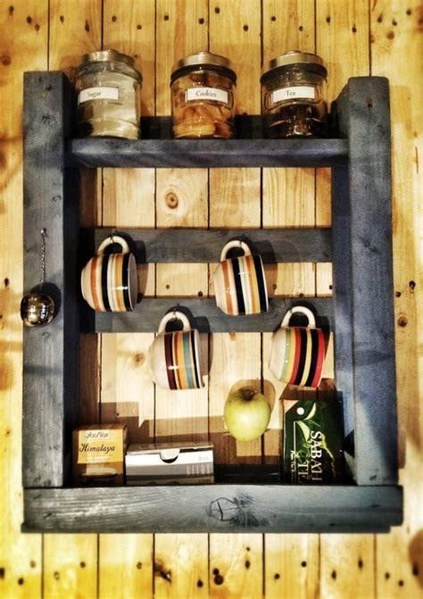Mensole Per La Cucina Come Riciclare I Pallet Per L Intero Arredamento Della