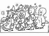 Halloween Coloring sketch template