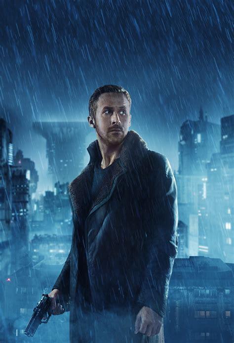 Pictures Blade Runner 2049 Ryan Gosling Pistols Man Rain