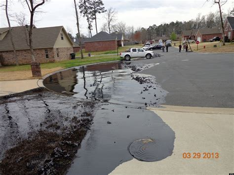 Exxon Oil Spill Photos From Mayflower, Arkansas Posted By
