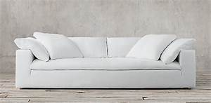 Sofas rh for Restoration hardware cloud sectional sofa
