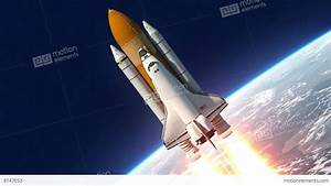 Space Shuttle Launch Stock Animation | 8147653