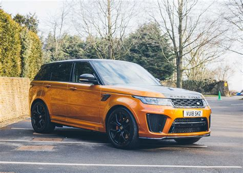 Range Rover Svr 2018 by The Range Rover Sport Svr Exists In A League Of Its Own