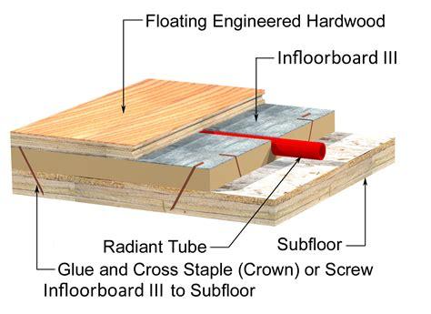 radiant floors hardwood design considerations for radiant flooring