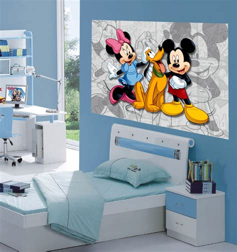 decoration mickey chambre wall decorations for