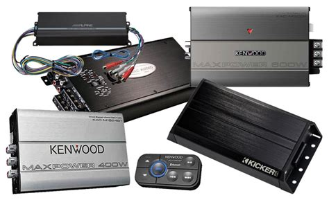 Motorcycle Amplifiers & Speakers Available In Kansas