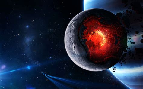 Planet Core Meltdown, Hd Digital Universe, 4k Wallpapers, Images, Backgrounds, Photos And Pictures