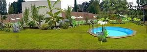 amenager un jardin exotique monjardin materrassecom With porche d entree maison 16 amenagement autour piscine with mediterraneen jardin