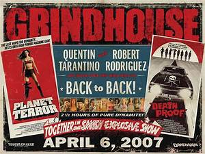 grindhouse planet terror death proof movie poster With grindhouse poster template
