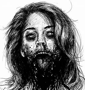 Cool drawing of a zombie | Zombies | Pinterest | Drawings ...