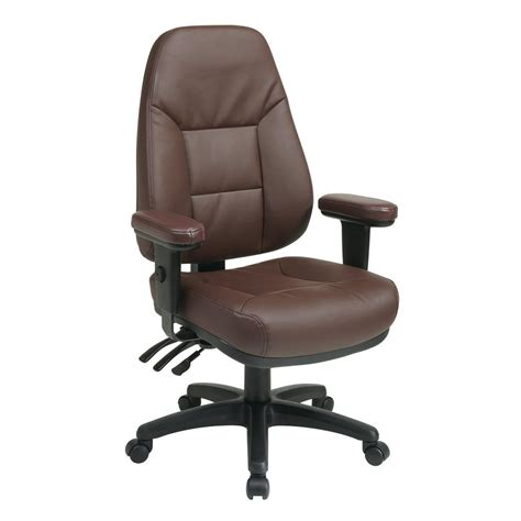 shop office one worksmart burgundy leather executive