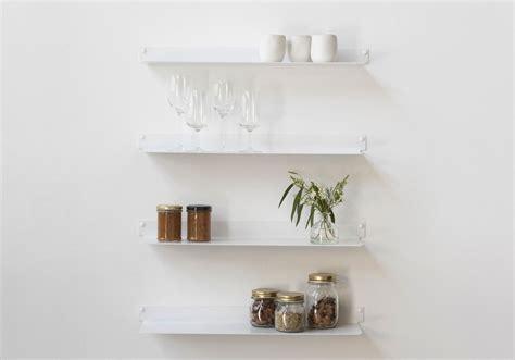 cuisine etagere étagère pour la cuisine teeline 60 cm lot de 2 acier