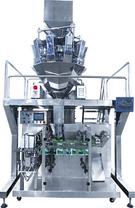horizontal pre  pouch machine soonk packaging machinery