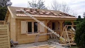 Vente Chalet Bois Habitable : chalet de loisir ou d 39 habitation bordeaux 42 m2 sans rt2012 ~ Melissatoandfro.com Idées de Décoration