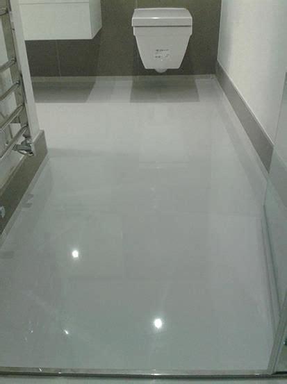 Epoxy Bathroom Floor by Unicolour Resin Flooring Portfolio From 3d Royal Floors In