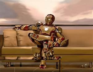 Iron Man 3 - Mark 42 by fRancisChong on DeviantArt