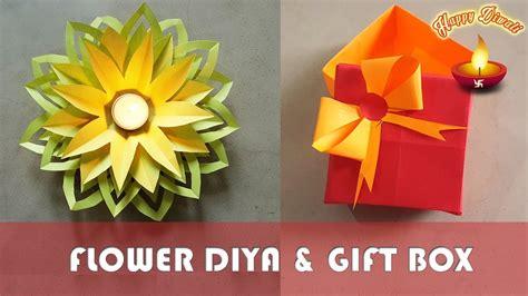 flower diya gift box diwali special  minute
