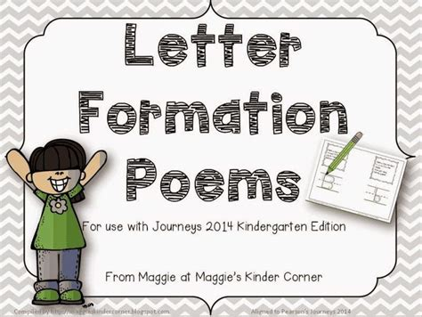 letter formation poems    journeys handwriting