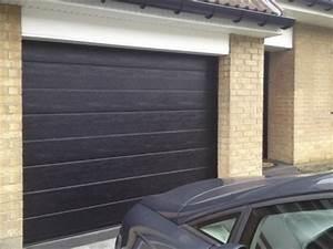 portes de garage ftfm la toulousaine With porte de garage sectionnelle noire