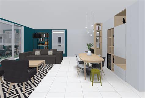 canapé marron clair salon bleu petrole et gris chaios com