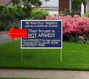 Would you put a sign in your yard that says your home is a ...