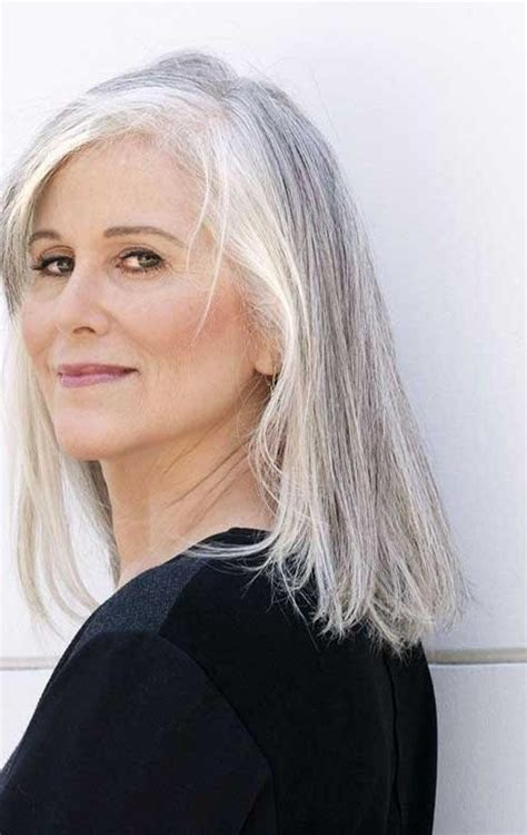 2019 Latest Long Hairstyles For Older Ladies
