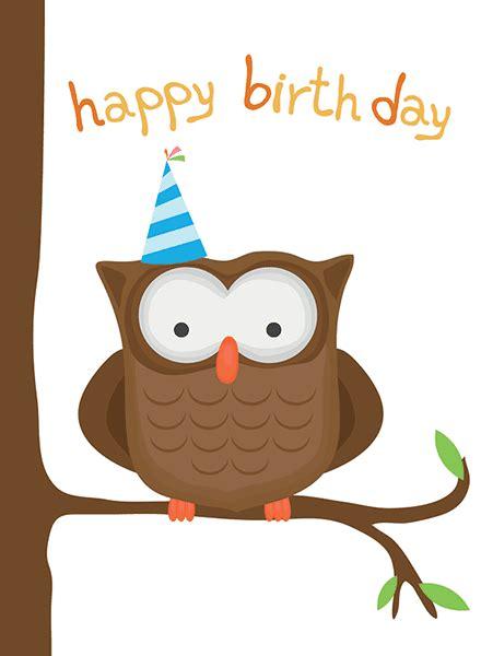 Happy Birthday Owl Images Birthday Owl Symbols Emoticons