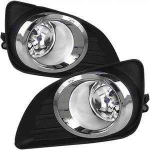Winjet 2010-2011 Toyota Camry Oem Replacement Fog Lights - Wiring Kit Included
