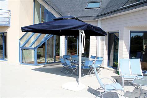 parasol d 233 cor d honfleur parasol mat excentr 233 rectangulaire avec lambrequin