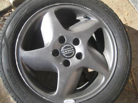 set   anthracite columba  turbo wheels volvo