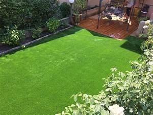 Amenager Un Petit Jardin Sans Pelouse : vente de gazon synth tique pas cher plan de campagne ~ Melissatoandfro.com Idées de Décoration