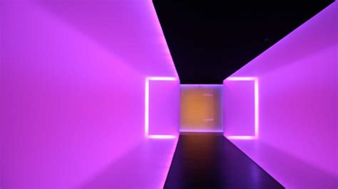 playing  james turrells light art architectural