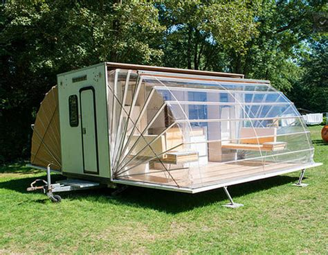 A Collapsable Camper Unfolds Into Surprising Luxury