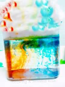 Rainbow Cloud Science Experiment