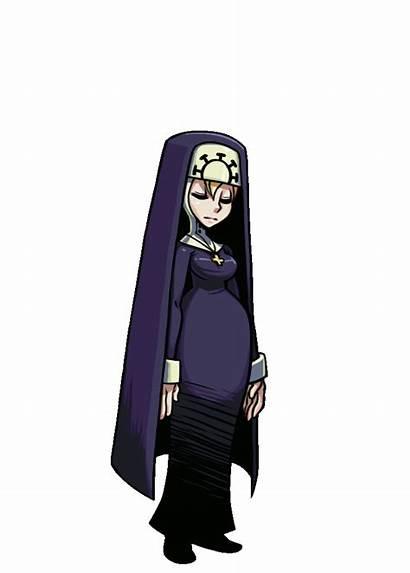 Skullgirls Nun Double Animation Gifs Skull Character