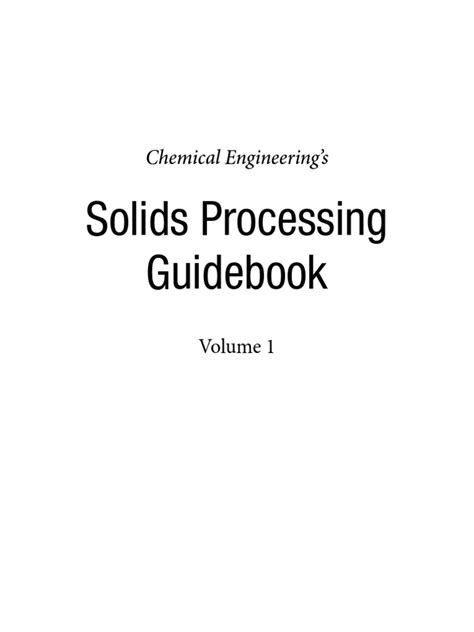 CE Chemical Process Guidebook 2011 | Combustion | Particulates