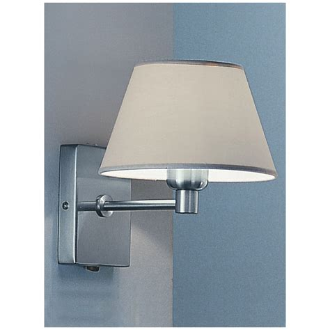 franklite wb501 9002 satin nickel single light wall