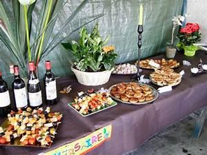 Apero Dinatoire Chaud : organiser un buffet pour 30 personnes pause cuisine ~ Nature-et-papiers.com Idées de Décoration