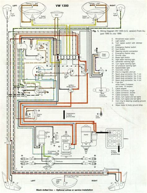 Volkswagen Wiring For 1969 by Thesamba Type 1 Wiring Diagrams With 1969 Vw Beetle