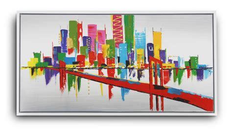 canapé coloré tableau ludington peinture à l 39 huile 120x60 cm mobilier moss