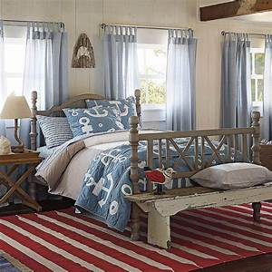 Inspiration, For, Decorating, Red, White, And, Blue, Bedrooms