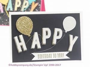 Geburtstagskarte Basteln Einfach : geburtstagskarte basteln schnell und einfach mit stampin up ~ Orissabook.com Haus und Dekorationen