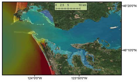 tsunami surge  push   columbia  columbian