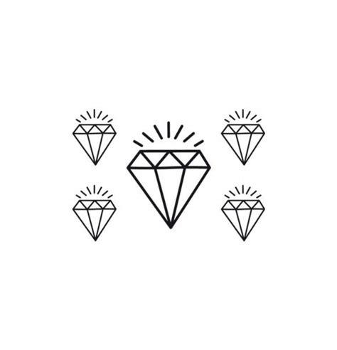 tatuaje temporal diamante tattoo
