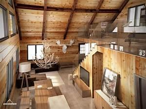 Les avantages ecologiques du chalet en bois actualite for Chalet en bois interieur