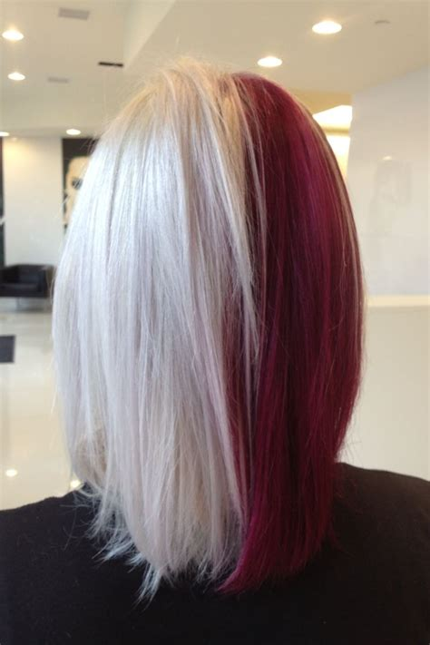 Half And Half Hair From The Back Hair Pinterest The