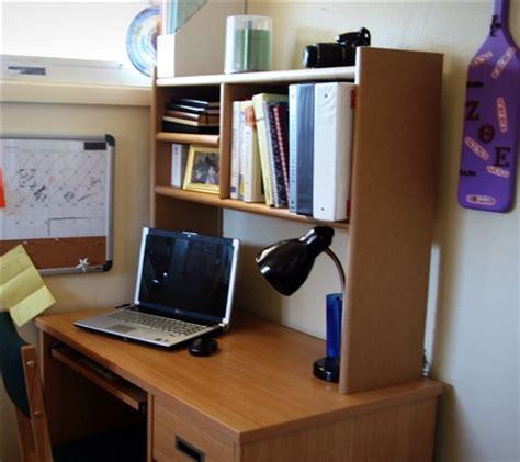 make a desk out of bookshelves eco shelf dorm room desk bookshelf cool dorm storage